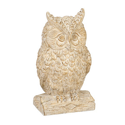 Reclaimed Finish Owl Statue