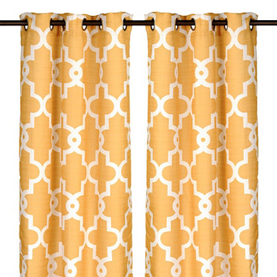 Marigold Maxwell Curtain Panel Set, 84 in.