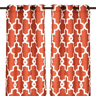 Spice Maxwell Curtain Panel Set, 84 in.