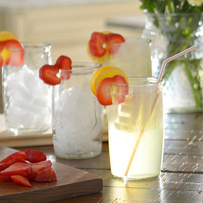 Ice Cold Highball Glasses, Set of 4