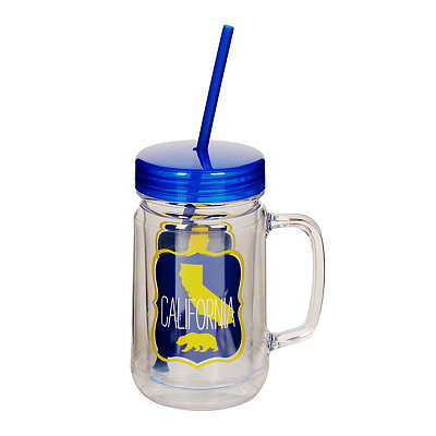 California Mason Jar Tumbler