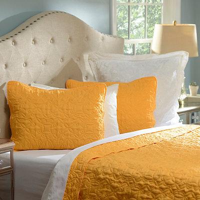 Yellow Queen Quilt Set, 3-pc.