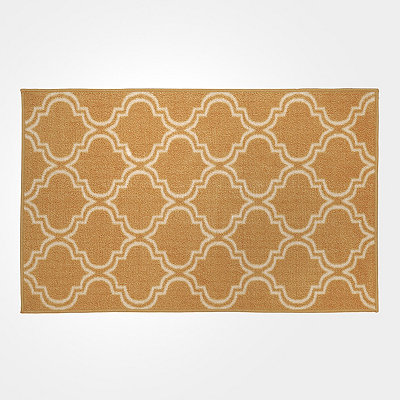 Yellow Geometric Brentwood Scatter Rug