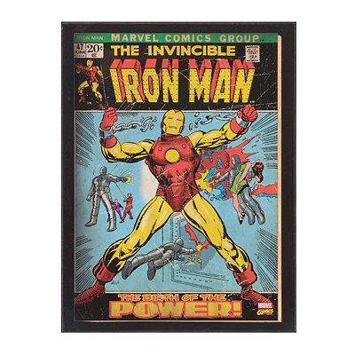 The Birth Of Iron Man Plaque