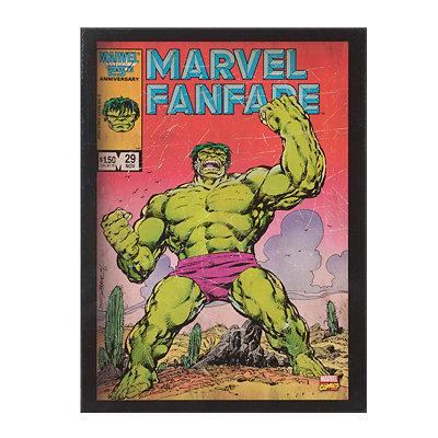 Incredible Hulk Fanfare Plaque
