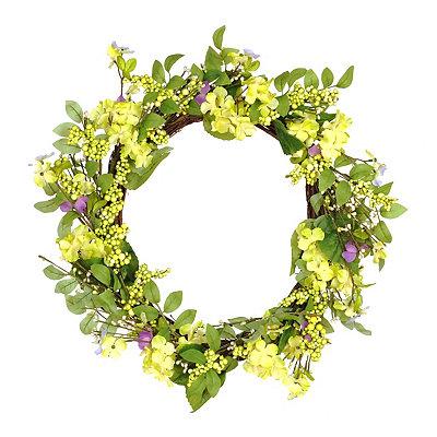 Spring Green Hydrangea Wreath