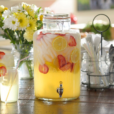 Authentic Mason Jar Beverage Dispenser