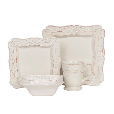 Square Colonial 16-pc. Dinnerware Set