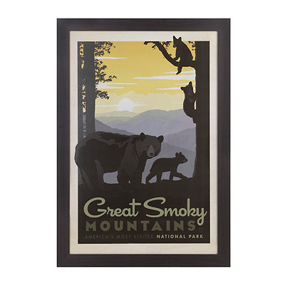 Great Smoky Mountains Framed Art Print