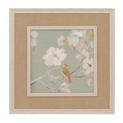White Magnolia Blossoms I Framed Art Print