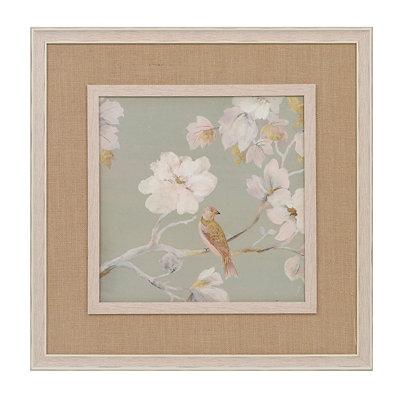 White Magnolia Blossoms I Framed Art Print