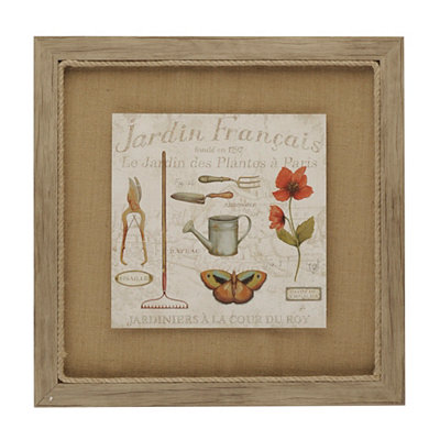 Royal Garden II Framed Art Print