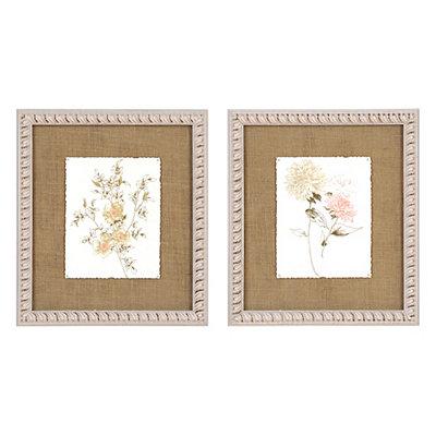 Chic Floral Framed Art Prints