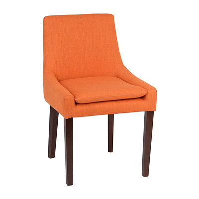 Marigold Orange Accent Chair