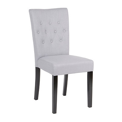 Hayes Persian Gray Tufted Dining Chair