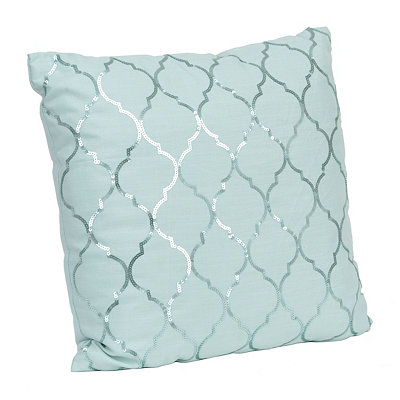 Metallic Moroccan Sequin Pillow