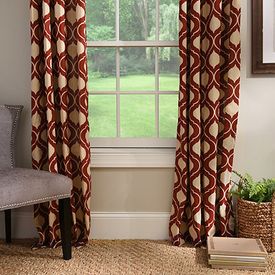 Spice Vanness Curtain Panel Set, 96 in.