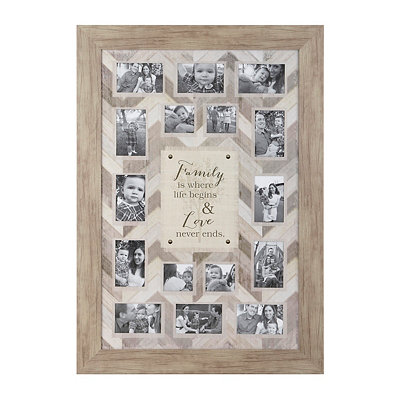 Family & Love Collage Frame