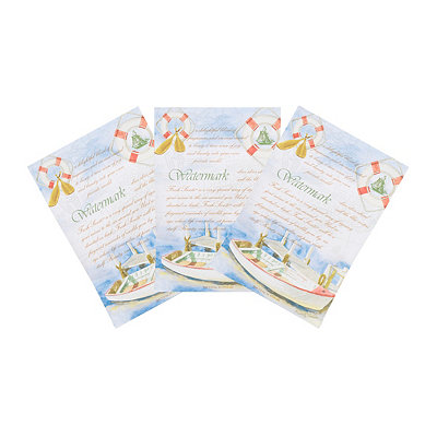 Watermark Sachets, 3-pack
