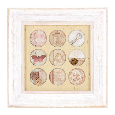 Shabby Chic Treasures Shadowbox