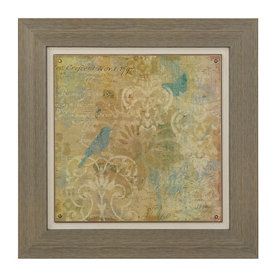 Nested From Above Framed Art Print