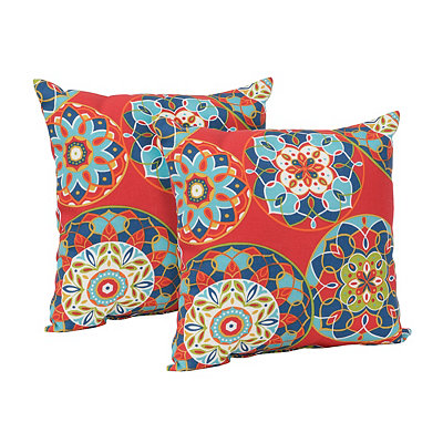 Cera Garden Outdoor Accent Pillows, Set of 2
