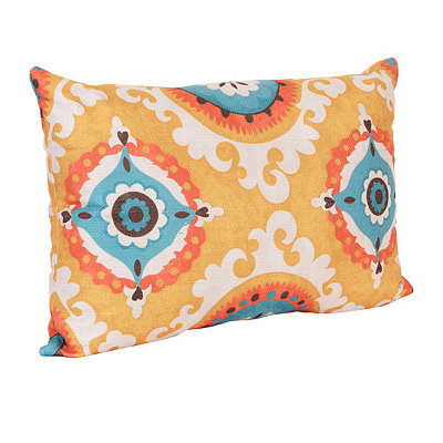 Yellow Valerie Accent Pillow