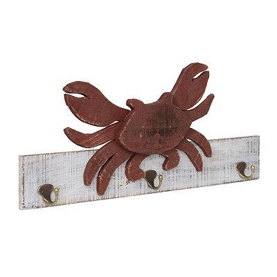 Wooden Crab Wall Hook
