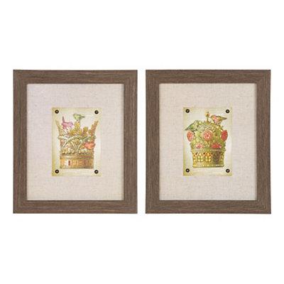 Royal Birds Framed Art Prints