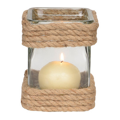 Montauk Rope-Wrapped Votive Holder