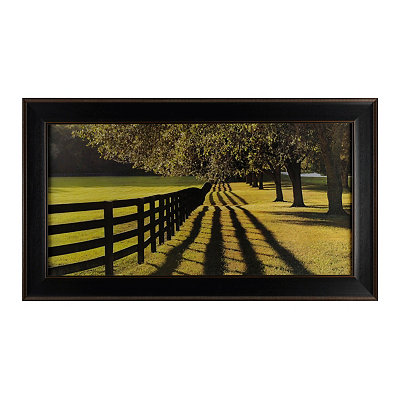 Chasing Shadows Framed Art Print