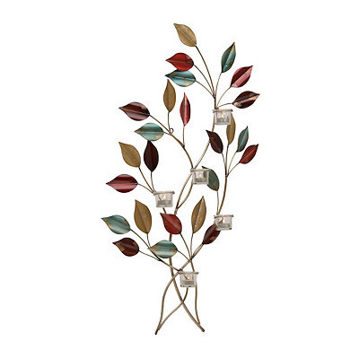 Metallic Vine Sconce