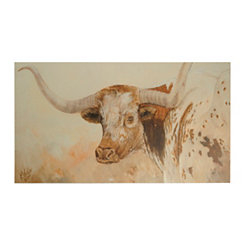 Steer My Way Canvas Art Print