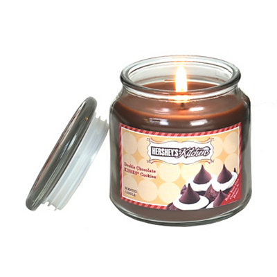 Hershey's Chocolate Kisses Cookies Jar Candle