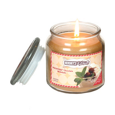 Whoppers Chocolate Milkshake Jar Candle