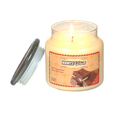 York Peppermint Pattie Brownies Jar Candle