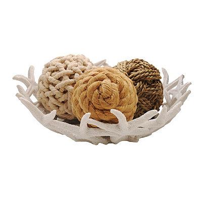 White Starfish Decorative Bowl