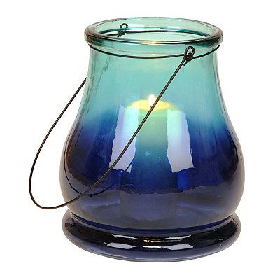 Blue Ombre Lantern