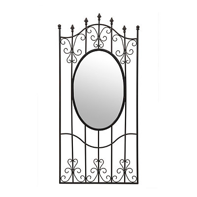Black Anastasia Gate Mirror