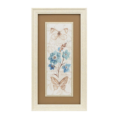 Butterfly Blooms II Framed Art Print