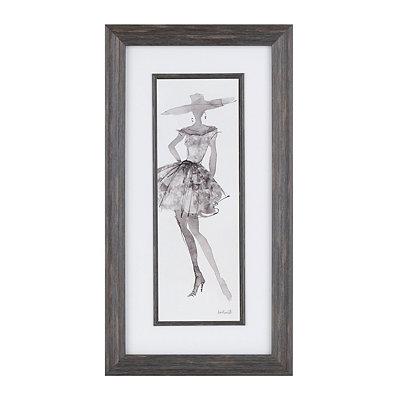 Fashion Sketch I Framed Art Print