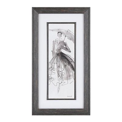 Fashion Sketch II Framed Art Print