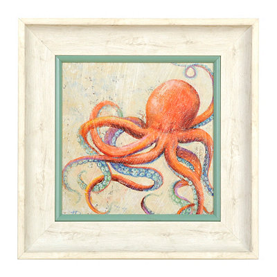 Coastal Octopus Shadowbox