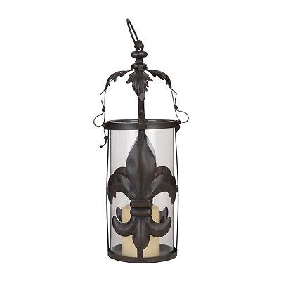 Bronze Fleur-de-lis Lantern