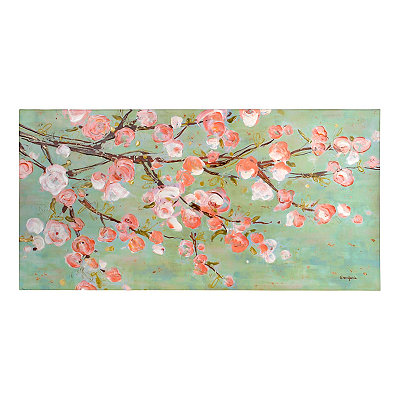 Cherry Blossom Branch Canvas Art Print