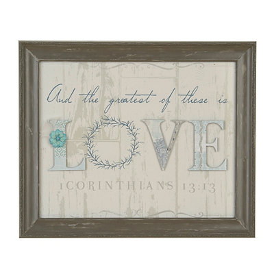 The Greatest of These is Love Shadowbox