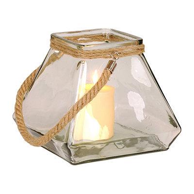 Clear Pyramid Lantern