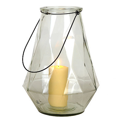 Clear Diamond Lantern