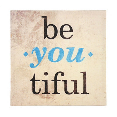 Beyoutiful Canvas Art Print