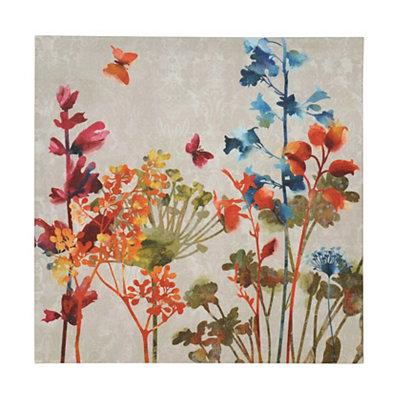 Colorful Flowers II Canvas Art Print